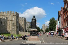 Queen Victoria Statue, Castle Hill, Windsor