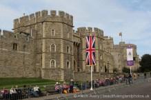 Windsor Castle, The Queen's 90th Birthday, Windsor