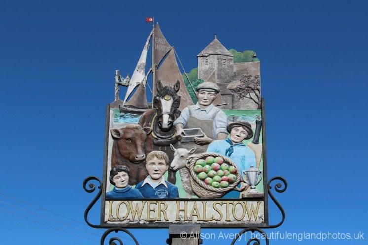 Village sign, Lower Halstow
