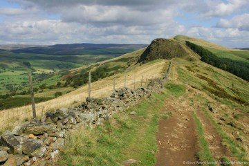 Path to Back Tor and Lose Hill, The Great Ridge, Peak District