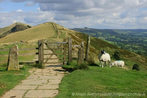 Path to Hollins Cross, The Great Ridge, Peak District