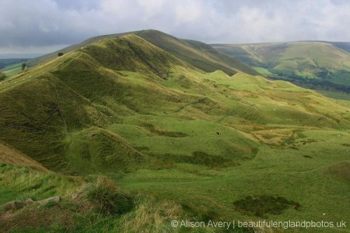 Rushup Edge and Lord's Seat, from Mam Tor, Peak District