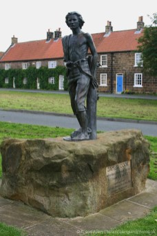 James Cook Sculpture, High Green, Great Ayton