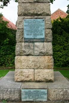 Obelisk, replacing Captain James Cook's Cottage, Great Ayton