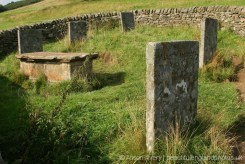 Riley graves, Hancocke family, plague victims, 3rd-10th August 1666, Eyam