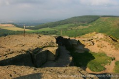 Summit, Roseberry Topping, North York Moors