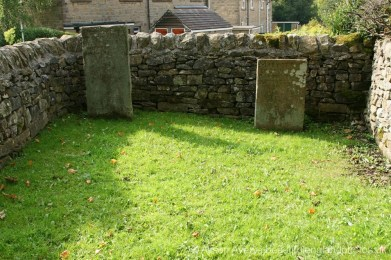 The Lydgate Graves, George Darby and his daughter, Mary, Eyam