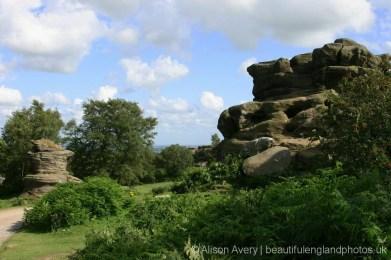 Castle Rocks and Flowerpot, Brimham Rocks
