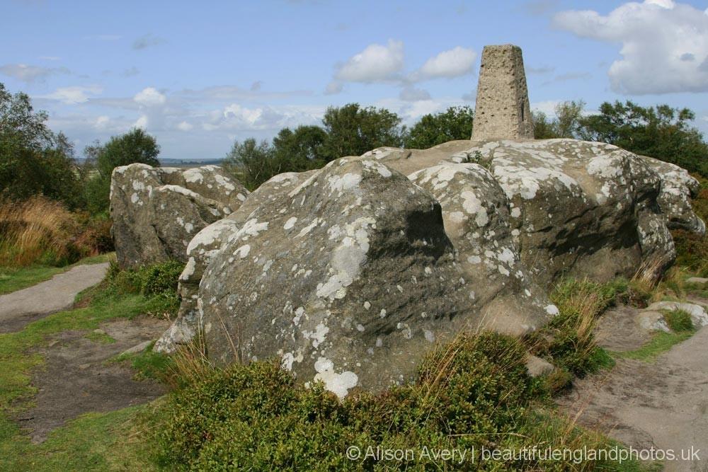 Trig Point, Brimham Rocks