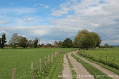 Footpath between East Hagbourne and West Hagbourne