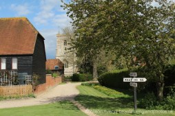 Footpath from St. Andrew's Church, East Hagbourne