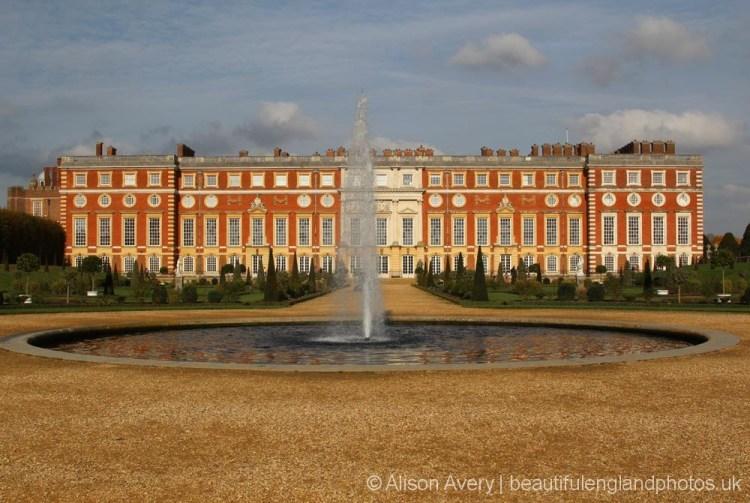 Fountain, The Privy Garden, Hampton Court Palace
