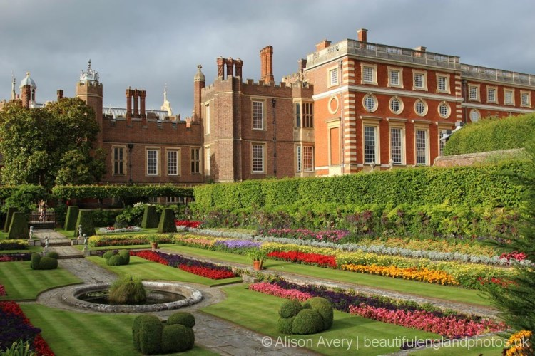 Pond Garden and South Front, Hampton Court Palace