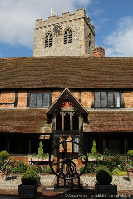 The Cloisters, Almshouses and St. Mary's Church, Ewelme