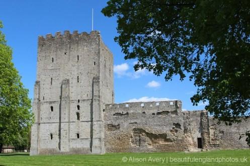 Keep, Portchester Castle, Portchester