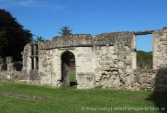 Entrance to The Chapter House, Titchfield Abbey, Titchfield