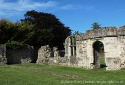 Entrance to The Chapter House, Titchfield Abbey, Titchfield