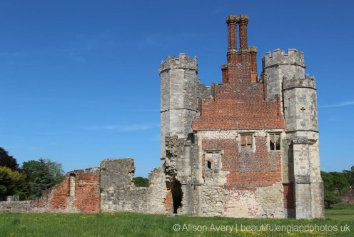 Tudor Chimneys, Titchfield Abbey, Titchfield