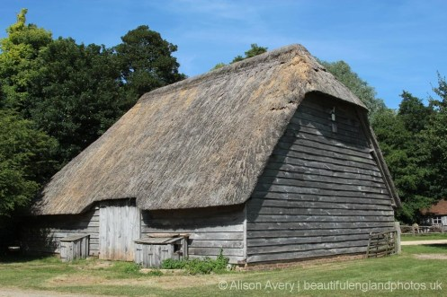 Court Barn from Lee-on-Solent, Weald and Downland Living Museum, Singleton