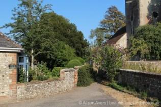 Path to St. Mary's Church, Singleton