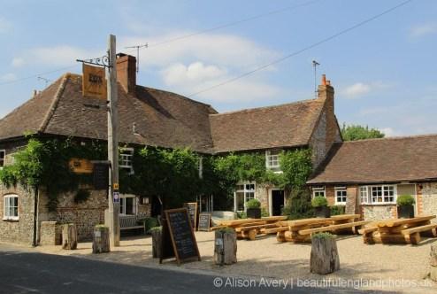 The Fox Goes Free pub, Charlton, near Singleton