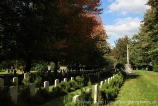 Canadian War Graves Cemetery, St. Mary's Churchyard, Bramshott