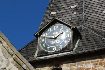 Clock, St. Mary's Church, Bramshott