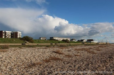 Promenade, from the beach, Lee-on-the-Solent