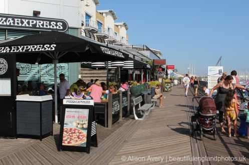 Pizza Express, The Waterfront, Brighton Marina, Brighton