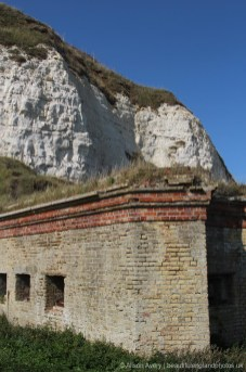 Caponier, Lunette Battery, Newhaven Fort, Newhaven