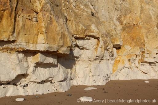 Chalk and flint cliffs, Telscombe Cliffs