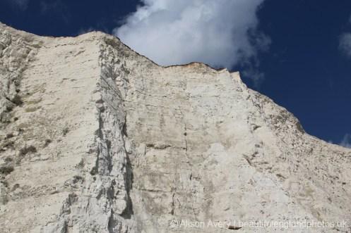 Chalk cliffs, Telscombe Cliffs