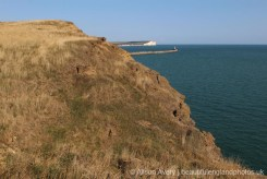 Cliff edge, Seahaven Coastal Trail, between Newhaven and Peacehaven