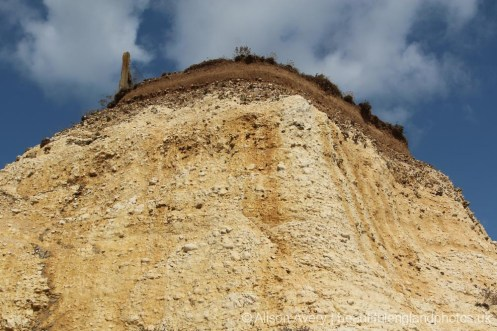 Cliff erosion, Telscombe Cliffs