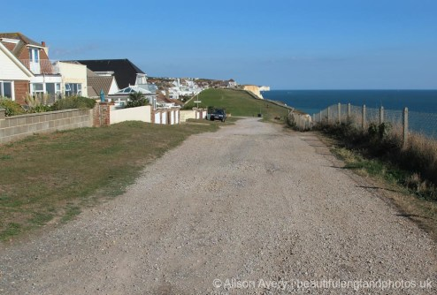 Clifftop footpath and The Promenade, Peacehaven