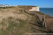 Clifftop path, Telscombe Cliffs