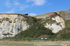 Radar Building, below Castle Hill, Newhaven