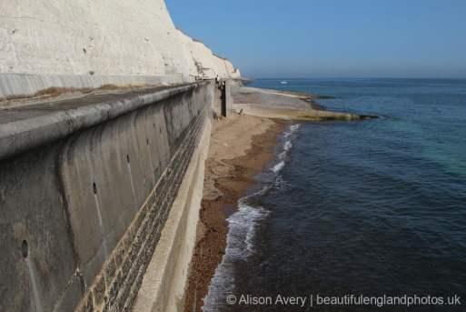 Sea wall, Brighton Marina to Ovingdean Gap