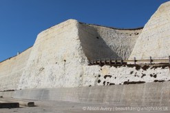 Undercliff Walk, below ramp, Bastion Steps, Peacehaven
