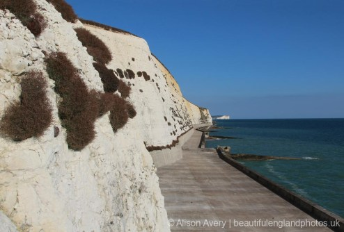 Undercliff Walk, from Bastion Steps, Peacehaven