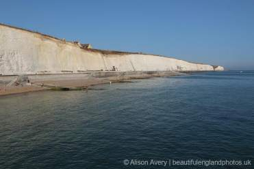 Undercliff Walk, from Brighton Marina, Brighton