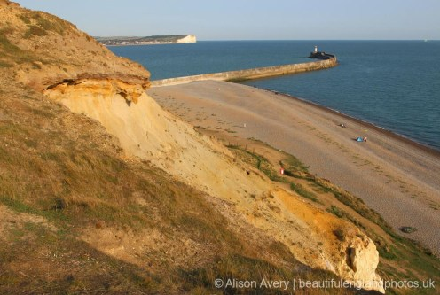 West Beach, from Castle Hill, Newhaven