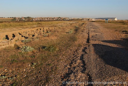 Former Railway Line, Tide Mills, between Seaford and Newhaven