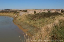 Remains of Dale's Racing Stables, Tide Mills, near Newhaven