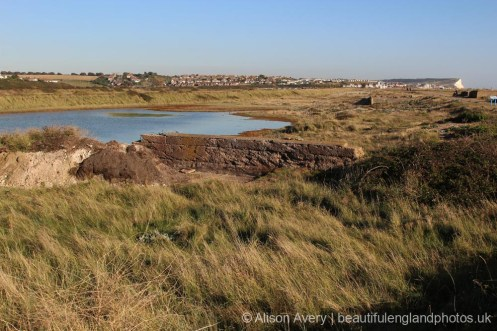 Remains of Mill Pond, Tide Mills, near Newhaven