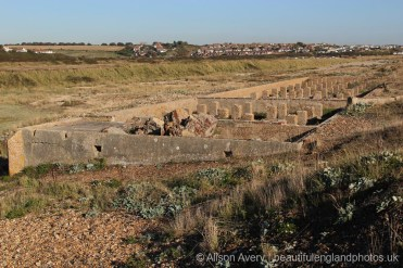Remains of Nurses' Home, Tide Mills, near Newhaven