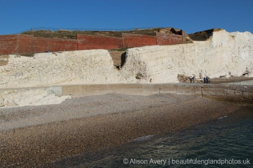 Ruins of Splash Point Hotel, Splash Point, Seaford