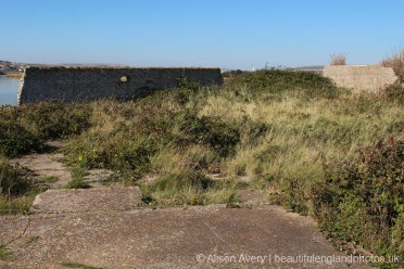 Site of the Old Coal Yard and Stables, Tide Mills, near Newhaven