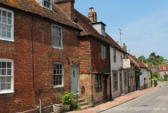 Cottages and Badgers Tea House, North Street, Alfriston