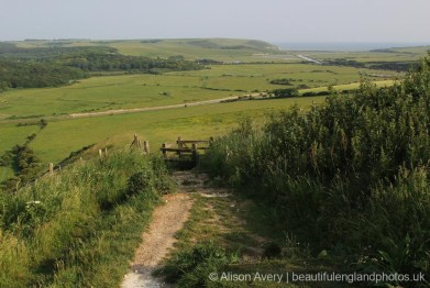 Cuckmere Valley, from High and Over viewpoint, near Alfriston